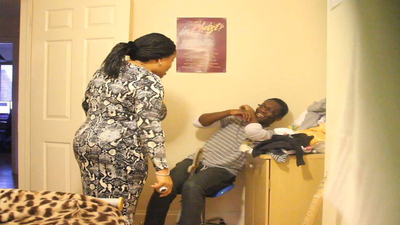 pranking my mum - youtube