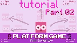 How to make a Platform Game for Android in App Inventor | part 02 adding movement and sounds