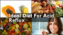 Ideal Diet For Acid Reflux