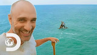 Ed Stafford Gets Stranded Crossing The South China Sea | Ed Stafford: First Man Out
