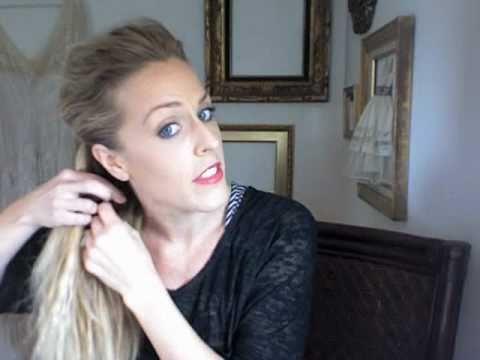 FANCY SIDE BRAID HAIR TUTORIAL - YouTube