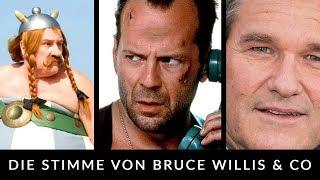 Cover images Synchronsprecher von Bruce Willis, Gérard Depardieu, Kurt Russell & Co - Behind the Voice
