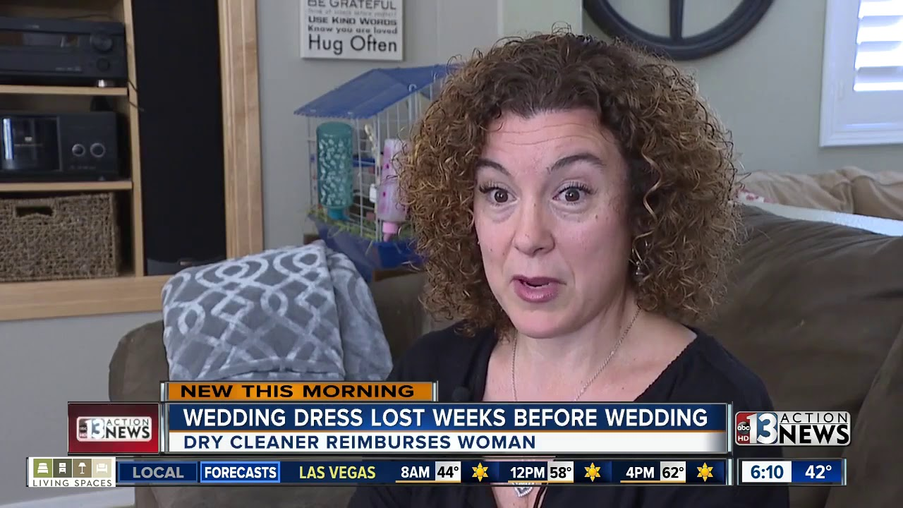 Bride To Be Frustrated After Local Dry Cleaner Loses Her