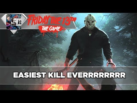 "EASIEST KILL EVER - Friday The 13th: The Game - ""World Record Match"""