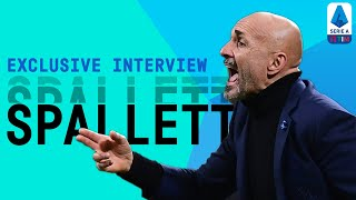 I'm always studying attacking football | Luciano Spalletti | Exclusive Interview | Serie A TIM