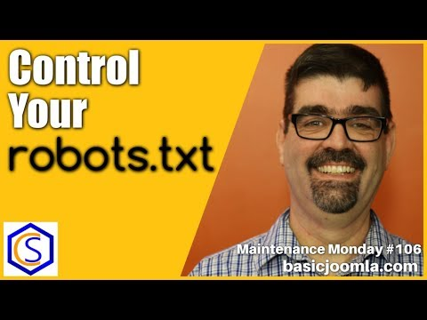 Control Your Robots.txt In Joomla 🛠 MM Live Stream #106