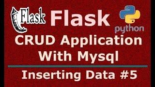 5 Python Flask CRUD Application Inserting Data In Mysql Database