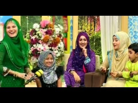 SUBH-E-EID (MORNING SHOW) - 3rd September 2017 - ARY Qtv