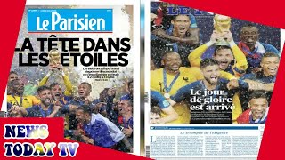 A day of glory: how the French press covered World Cup victory