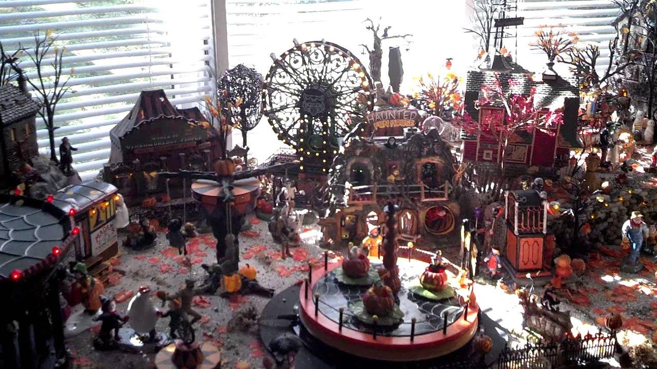Halloween Village 2013 daytime - YouTube