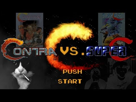 Contra VS Super C - Lets Cumpair...