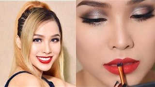 connectYoutube - [ Quách Ánh ] Party Makeup Tutorial : Glam Crease Cut ( English Sub )