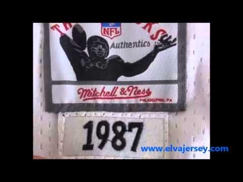 competitive price f4fc0 6b5cf Oakland Raiders Mitchell&Ness 34 Bo Jackson White wholesale  jerseys*elvajersey.com*