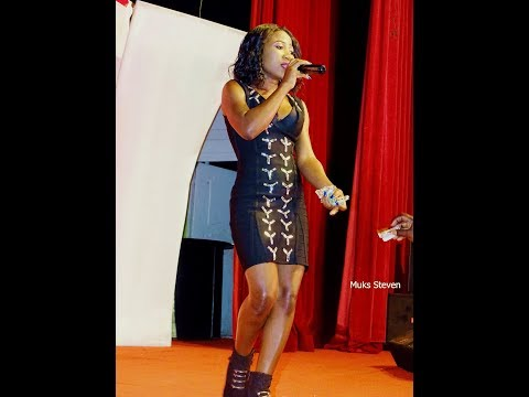 Chozen Becky's Perfomance In Atight And Sexy Dress At Women Night Out. New Ugandan Music Videos 2018