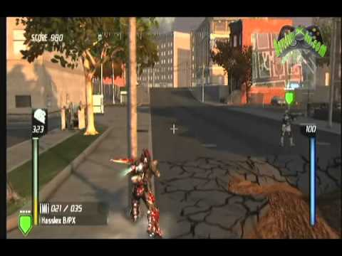[XBOX 360] Earth Defense Force - insect armageddon - gameplay