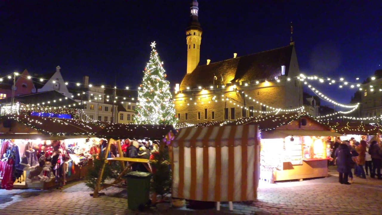 b85670179ca Tallinn Christmas (4K video) Come and experience Tallinn's winter full of  magic! 2017-2018 - YouTube