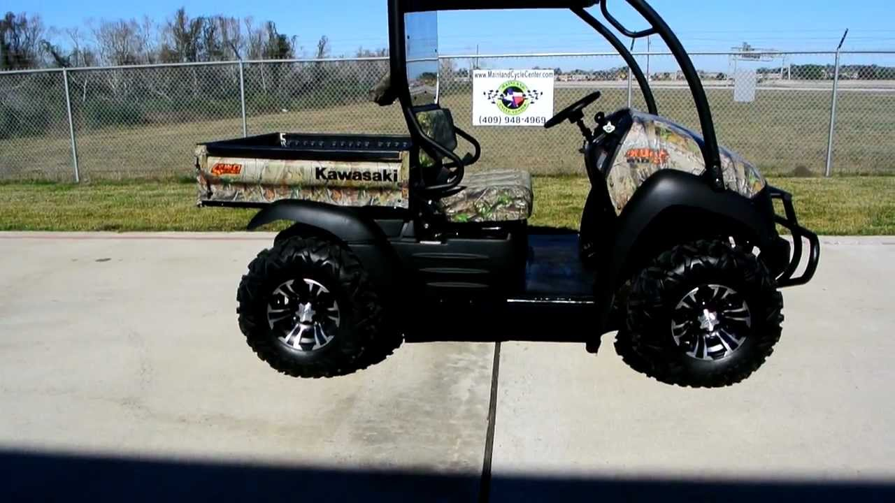 Mule 610 Bumper : Kawasaki mule xc camo utility vehicle loaded