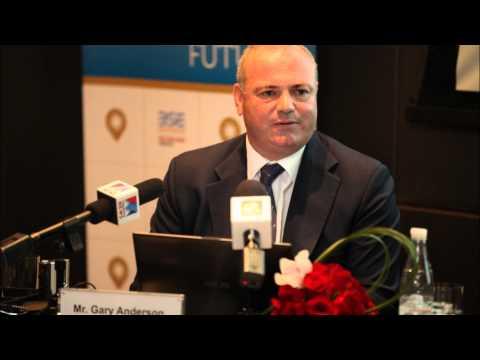 Gary Anderson, CEO, DGCX, talks to Dubai Eye 103.8 - July 3, 2013