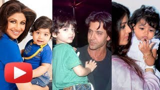Aishwarya Rai Bachchan, Aamir Khan, Shilpa Shetty - The Cutest Star Babies