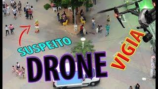 DRONE FLAGRA suspeito na MULTIDÃO wanzam fpv