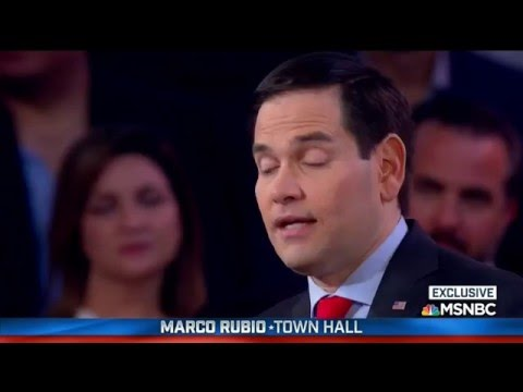 Marco Joins Chuck Todd For A Town Hall In Miami | Marco Rubio for President