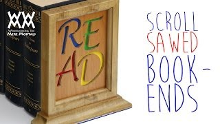 Scroll sawed bookends Thumbnail