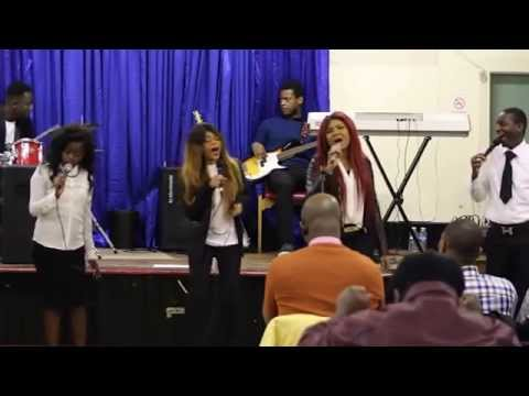 CHURCH YOUTH CONCERT Newcastle upon tyne (During the break) congolese