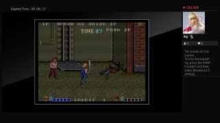Arcade Archives Double Dragon (PS4) One Credit Game Sample