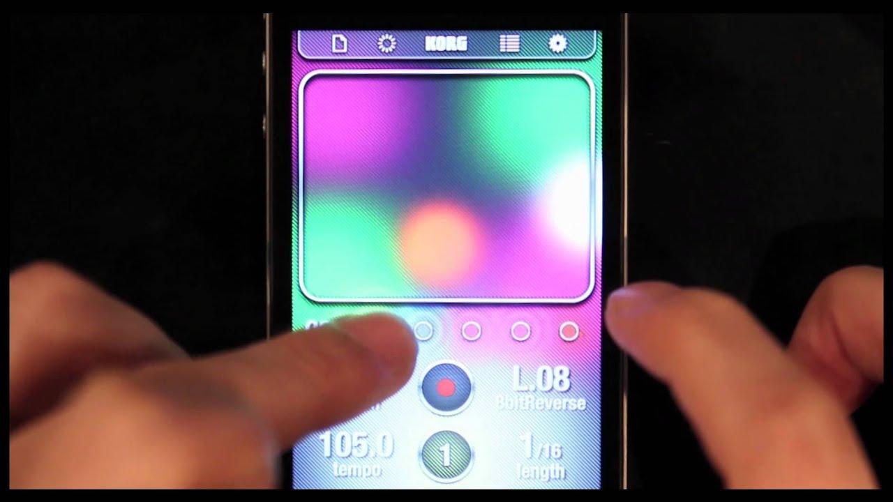 iKaossilator for iPhone and iPad | KORG (USA)