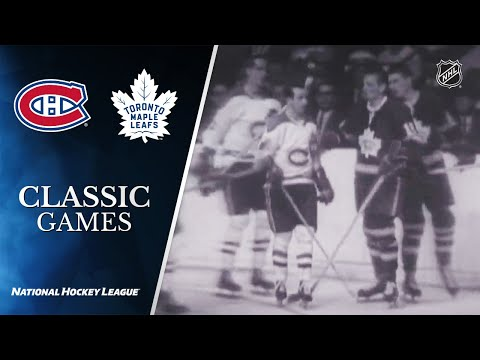 NHL Classic Games: 1967 Stanley Cup Final, Gm6: Maple Leafs Vs. Canadiens