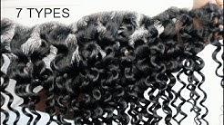 7 DIFFERENT HAIR TYPES- Different hair Looks- 35 BUNDLES