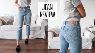 BEST JEANS | LEVI'S TRY ON AND REVIEW