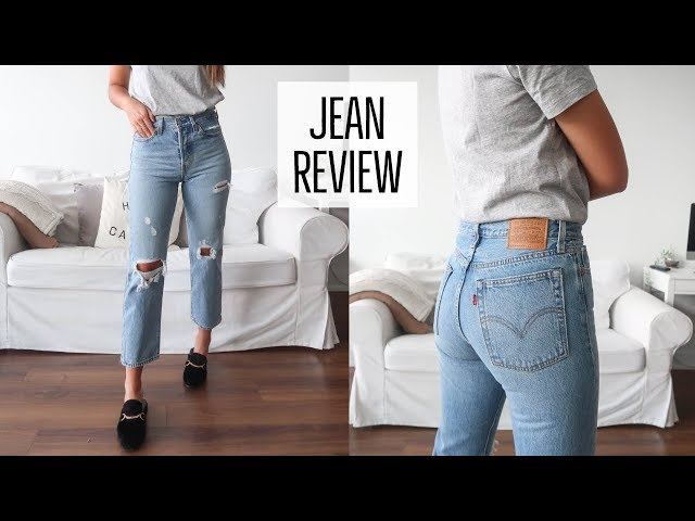 BEST JEANS | LEVI\'S TRY ON AND REVIEW