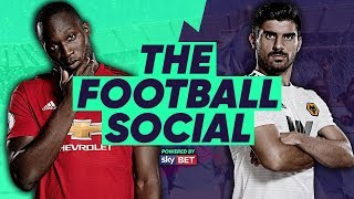 LIVE: Manchester United 1-0 Wolves | FRED THE RED SCORES! | The Football Social