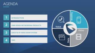 Grandstream Networking & Door Phone Webinar