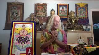 10-01-2020  Green Tara with peaceful and wrathful elemental dakinis,