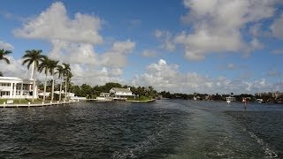 Fort Lauderdale - Intracoastal Waterway by Boat (Crown Princess Excursion)