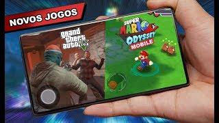 Novo GTA V Mobile, Mario e NOVOS jogos ANDROID 2019