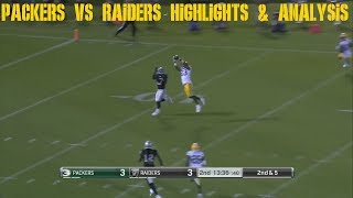 Packers vs Raiders Highlights & Analysis NFL Preseason Week 3