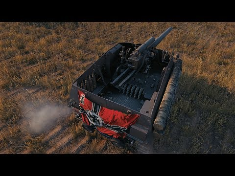 World Of Tanks Hummel (skin) EXCITING ENDING SPGs VS SPGs