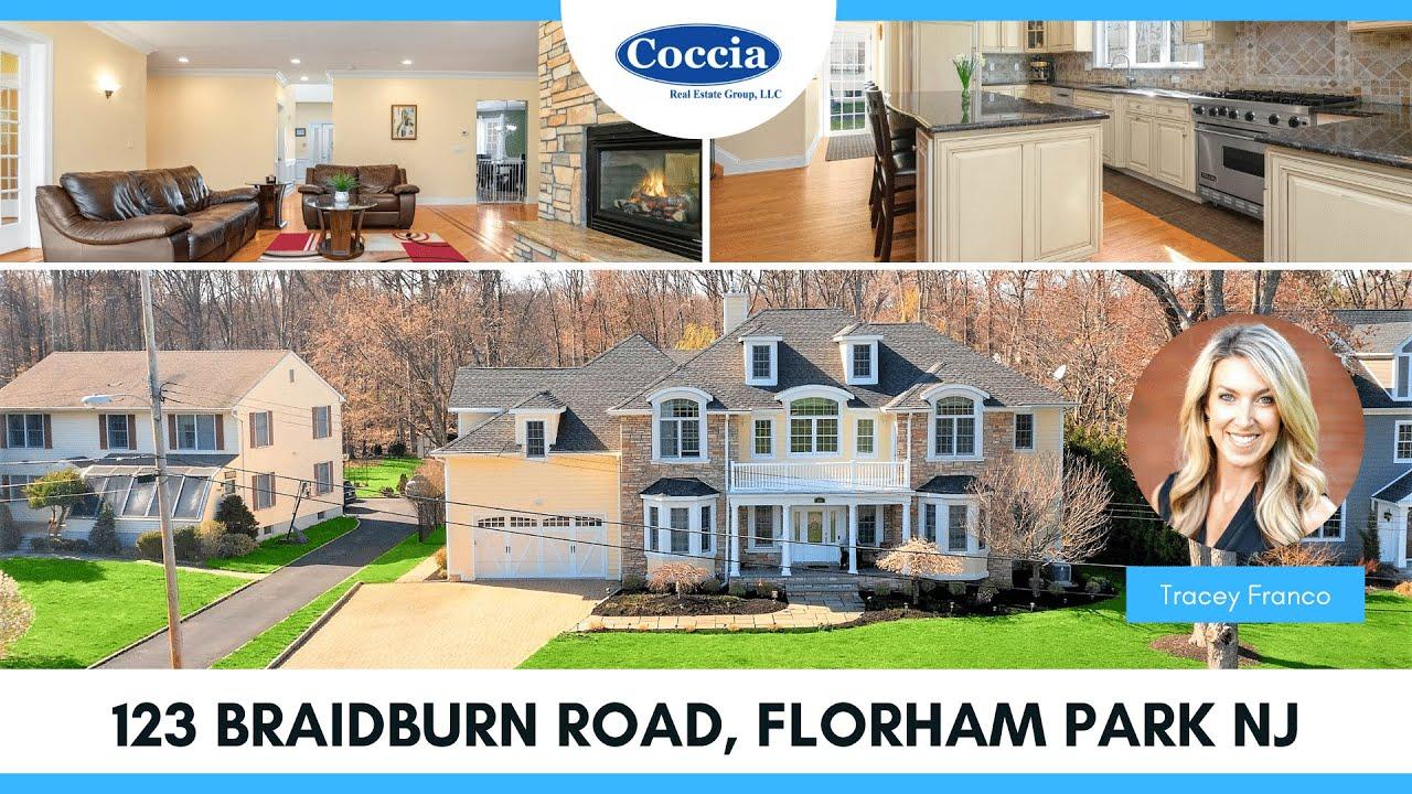 123 Braidburn Road   Homes for Sale Florham Park NJ   Morris County