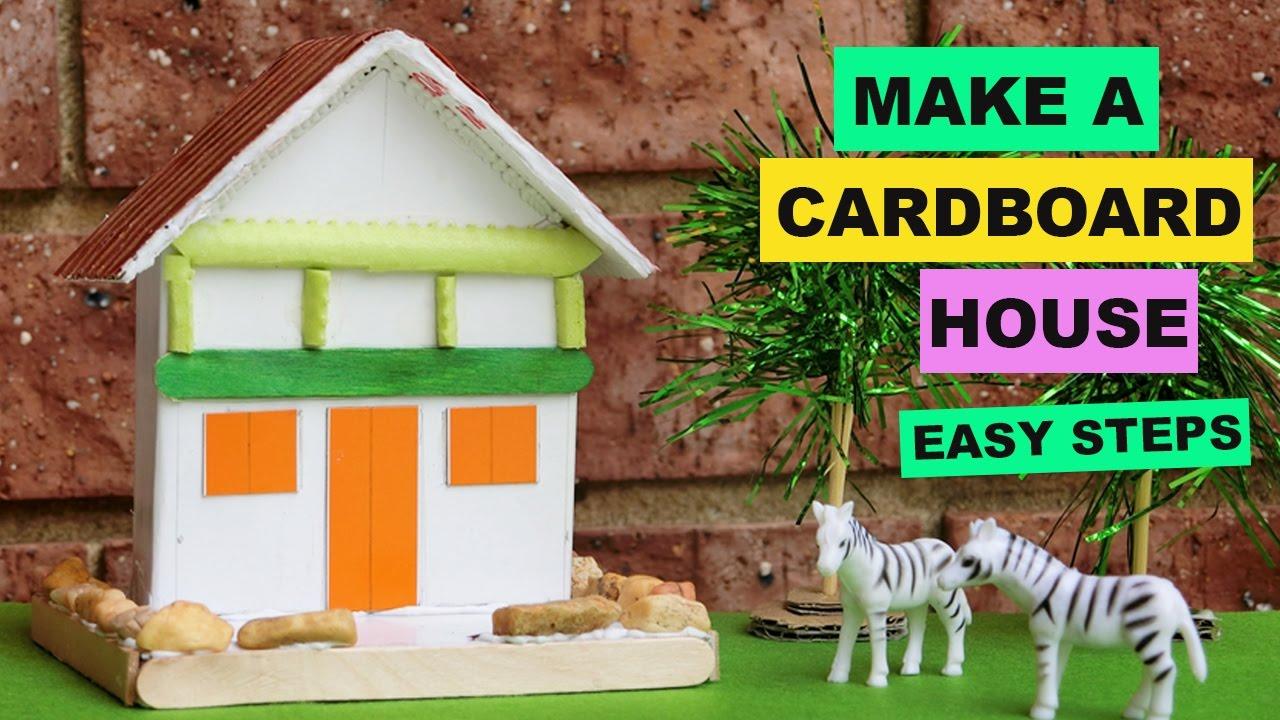 DIY Cardboard House for Kids   Creative Ideas   Backyard Crafts