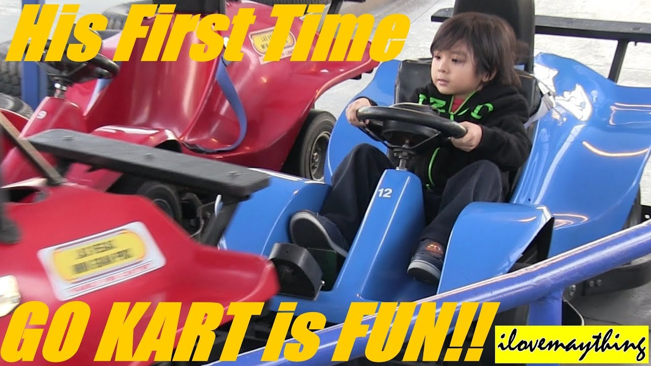 how to drive a go kart for the first time