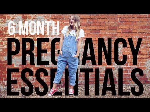 My 6 MONTH Pregnancy Essentials (Ad)