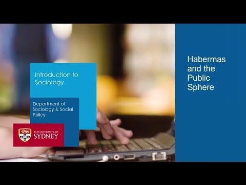 Habermas & the Public Sphere