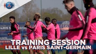 TRAINING SESSION - LILLE VS PARIS SAINT-GERMAIN