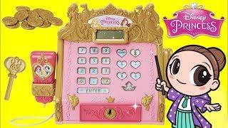 Disney Princess Royal Boutique Electronic Cash Register with Pretend Money Playset