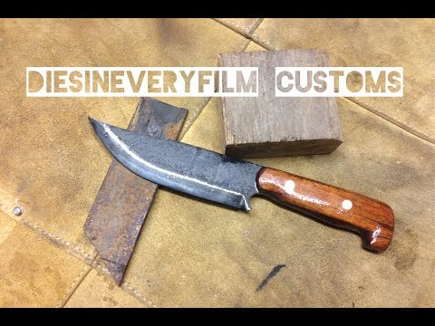 Knifemaking - custom Frontier hunting knife