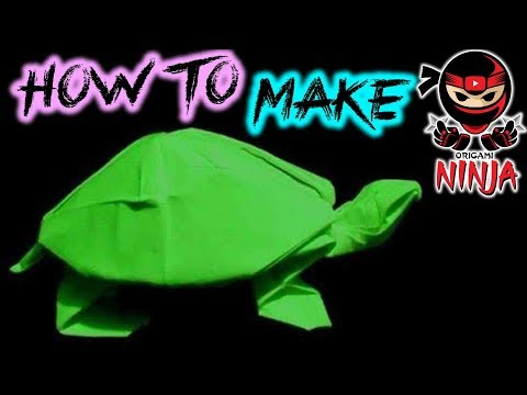 Step By Step Instructions On How To Make An Origami Turtle