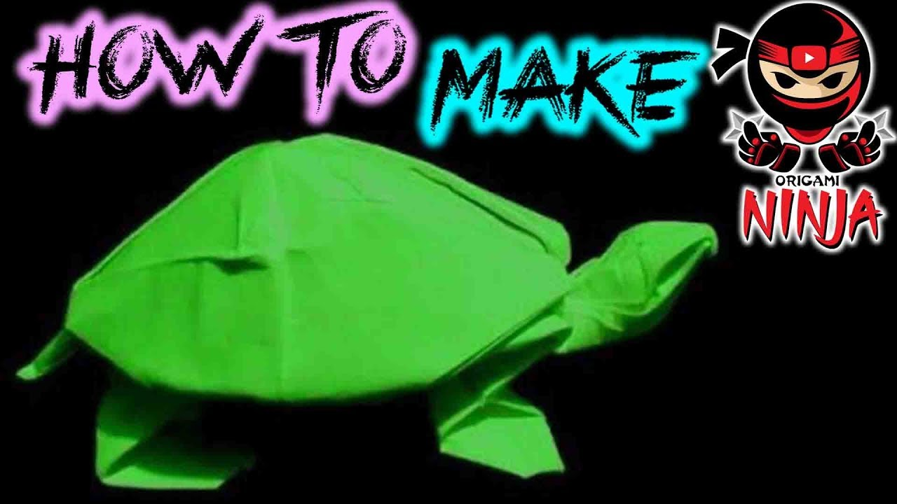 Origami Sea Turtle Instr. by DonyaQuick on DeviantArt | 720x1280